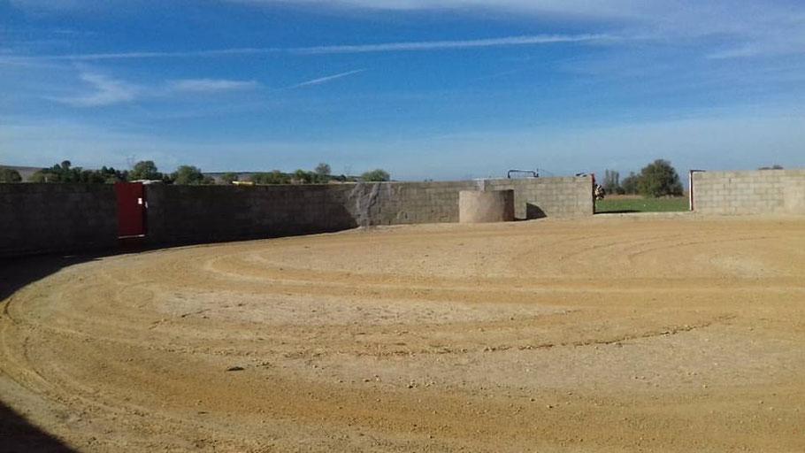 Finca con plaza de toros para que los aficionados puedan llevar a cabo capeas y demás eventos taurinos- Tf: 638197693