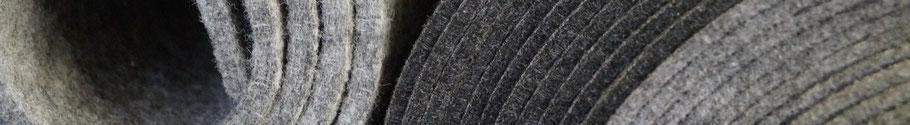 Rob&Raf Polyester Filz Grau Graphit Unsere Filze Materialien