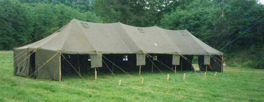 Zelt 6 Qm : Army tent for rent rents webseite