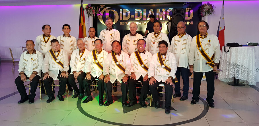 "Die ""Knights of Rizal Hamburg Chapter"" (2018)"