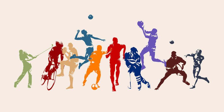 Ob Fußball, Basketball, Golf, MMA, Eishockey, Football oder E-Sports - bei FanTeam gibt es Daily-Fantasy-Sports für etlich Sportarten. Über das Bild gelangst du zum Anbieter FanTeam.