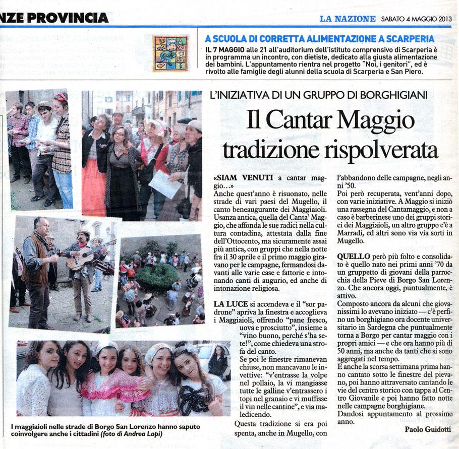 La Nazione - 4/5/2013