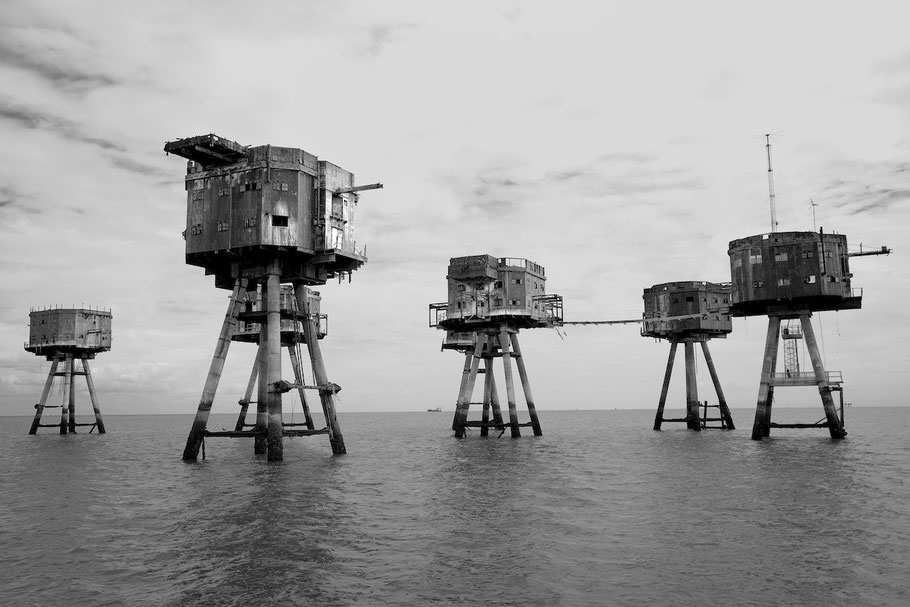 Red Sands Navy Forts, England