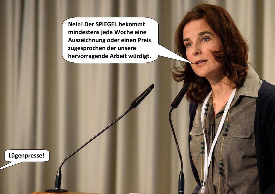 DER SPIEGEL, Chefredaktion, Susanne Beyer, Lügenpresse, Dezember 2018.