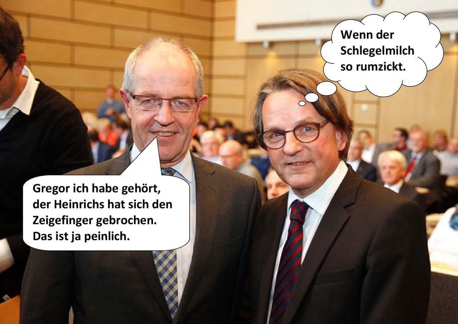Oberbürgermeister Hans Wilhelm Reiners, Dr. Gregor Bonin. Mönchengladbach, Bild 2-2