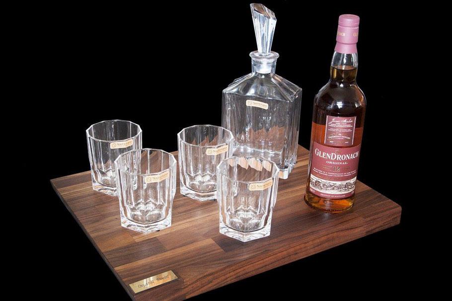 Tasting Whisky Set mit Gläsern und Karaffe