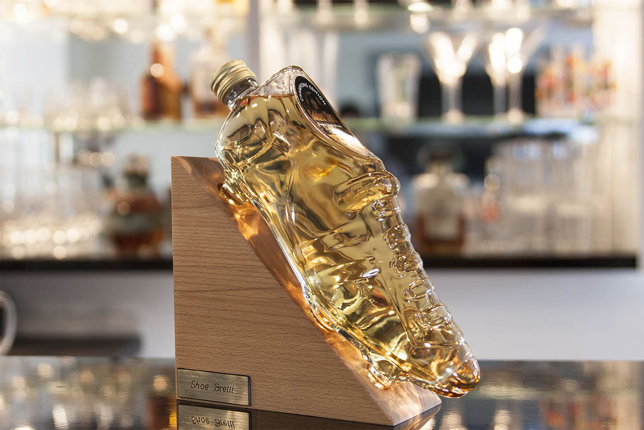 Shoe Flasche Whisky Set