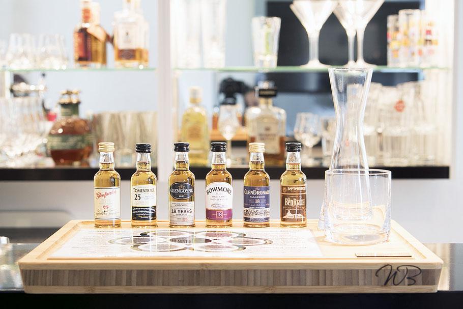 Whisky Tasting Brett - eine gute Geschenkidee