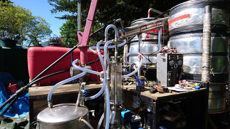 Distillerie d'huile essentielle Manuka Kanuka Nouvelle-Zélande