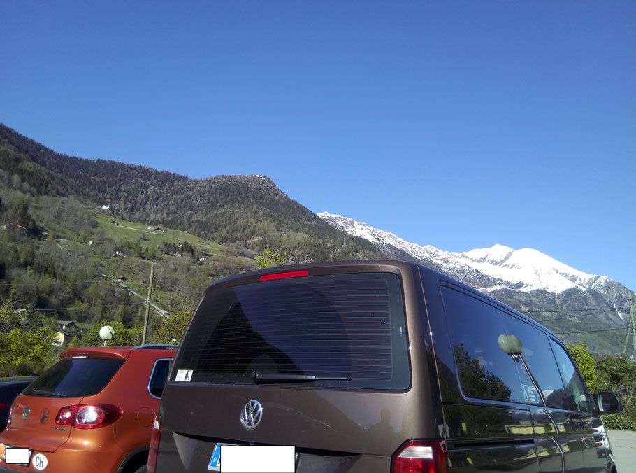 Bruno macht sich auch in der Schweiz gut. :-)