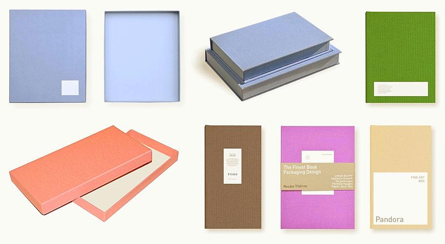 Buch Edition, Verpackungsdesign