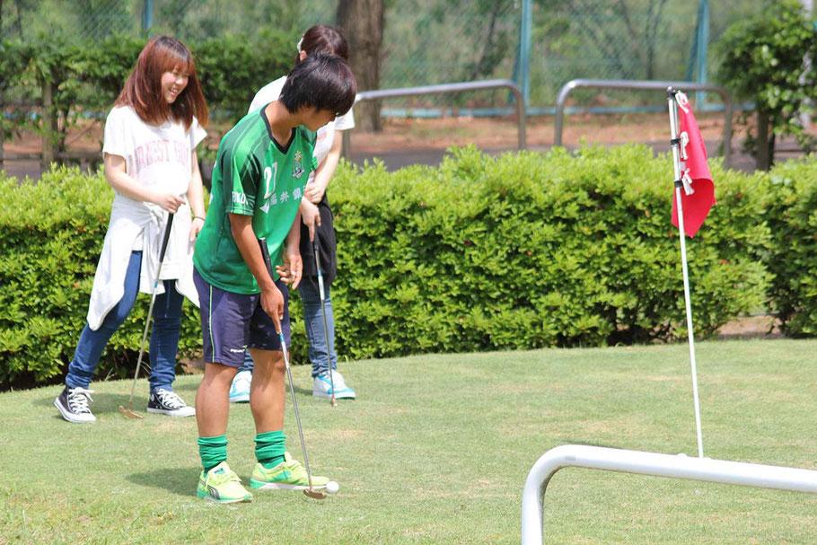 各種ゴルフを楽しめるテクノポート福井総合公園