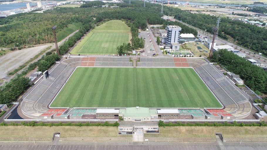 テクノポート福井総合公園の芝生広場