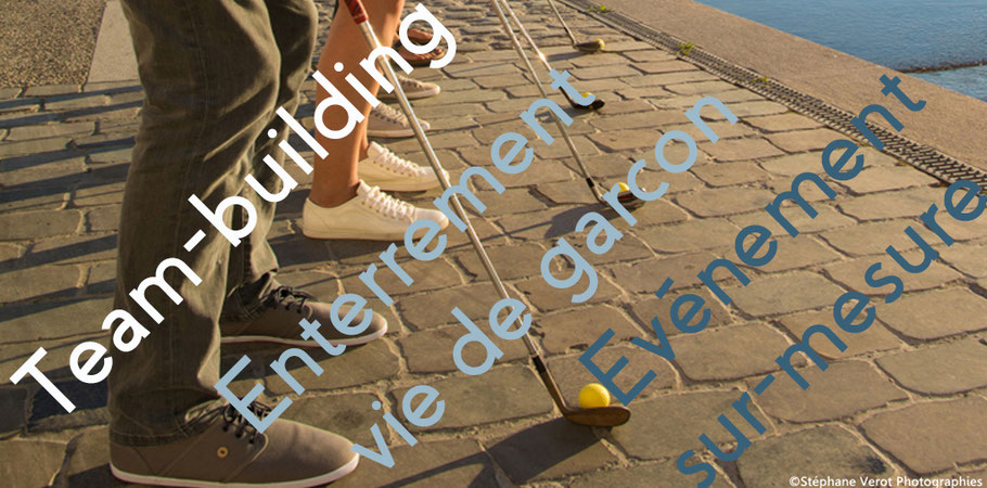 Evenementiel Lyon Street golf team-building enterrement de vie de garcon (evg) aniversaires