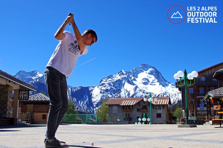 Lyon Street golf les 2 Alpes Outdoor Festival 24 et 25 juin 2017