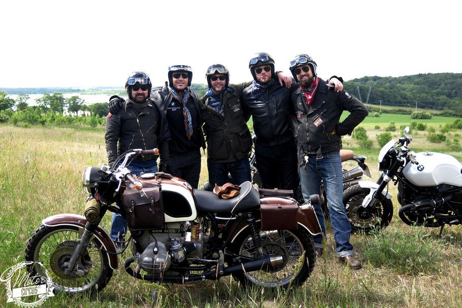 Motor Circus mit Hardy Krüger Jr. und Ronald Zehrfeld auf BMW
