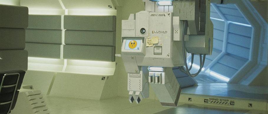 Die Künstliche Intelligenz GERTY in der Mondbasis in Moon (GB 2009)