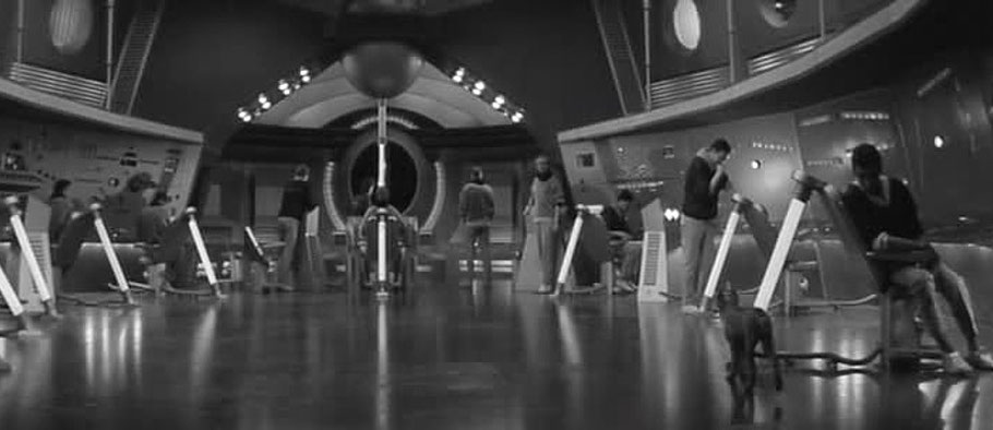 "Szenenfoto aus dem Film ""Ikarie XB 1"" (CSSR 1963)"