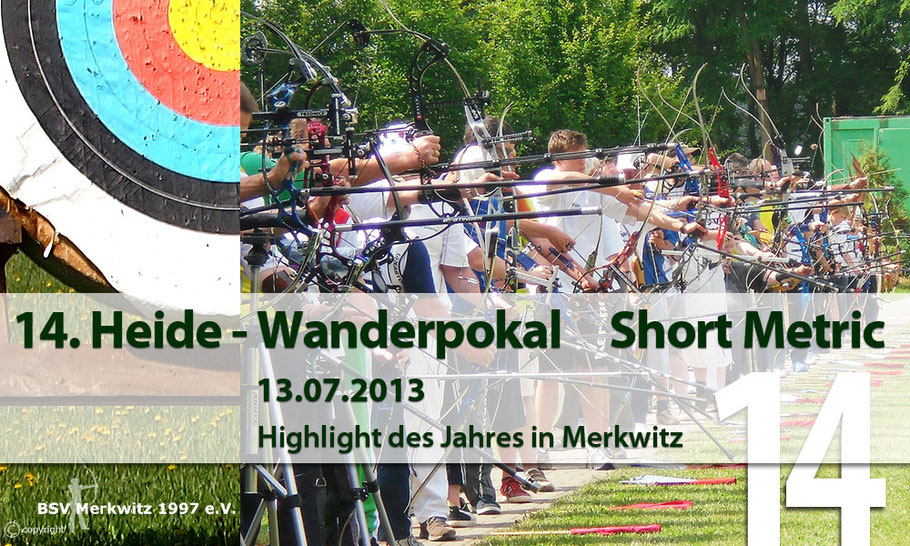 Fotocollage - 14. Heidewanderpokal Short Metric am 13.07.2013 in Merkwitz