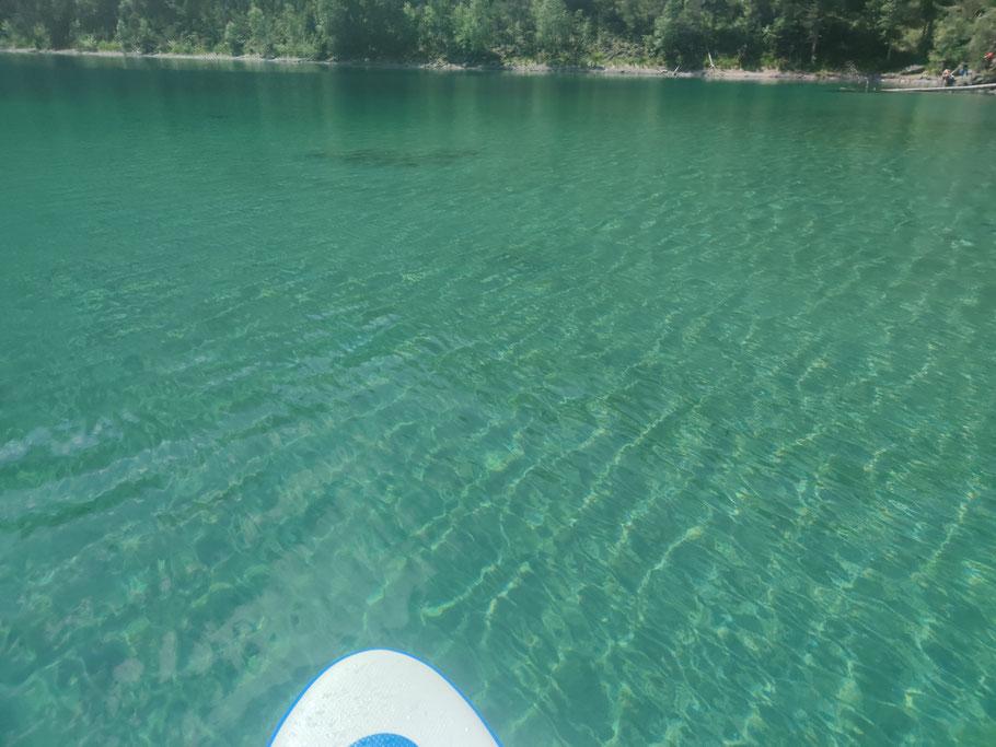 Wasser Blindsee Tirol SUP