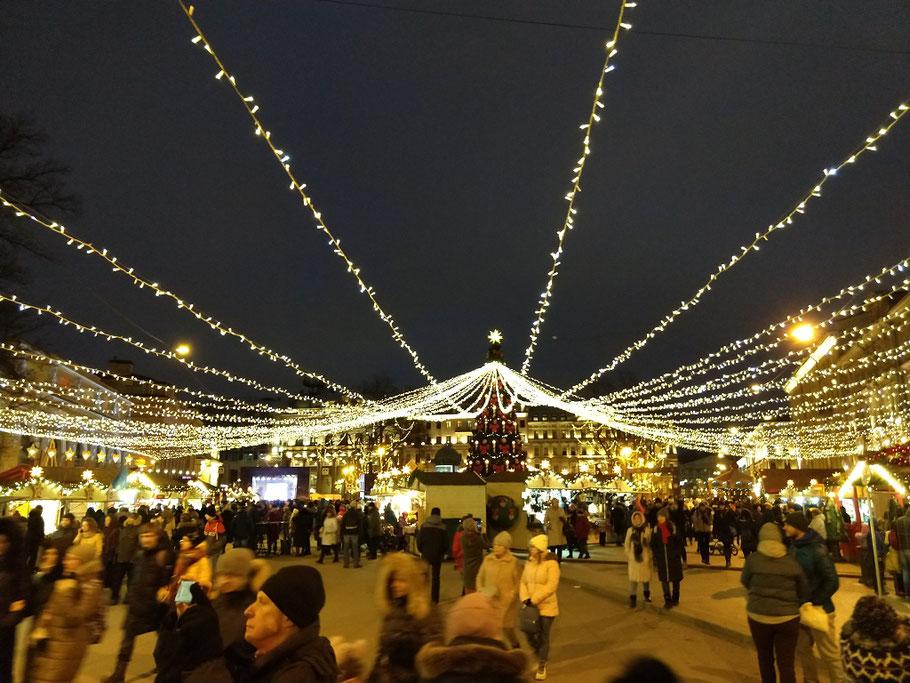 Weihnachtsmarkt in Sankt Petersburg