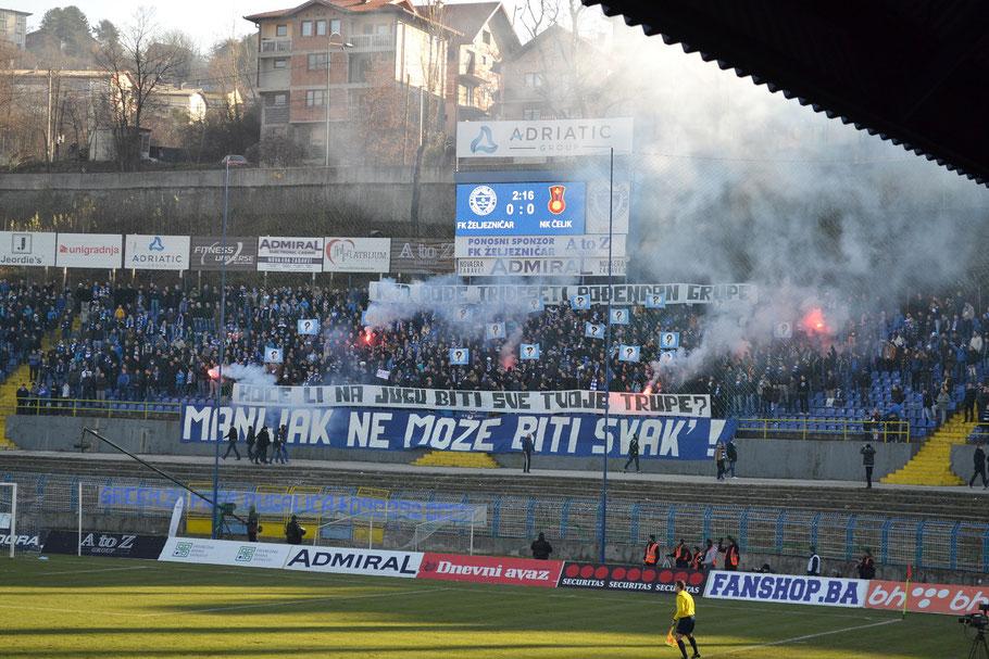 FK Zeljeznicar Sarajevo Stadion Grbavica Manijak Ultras