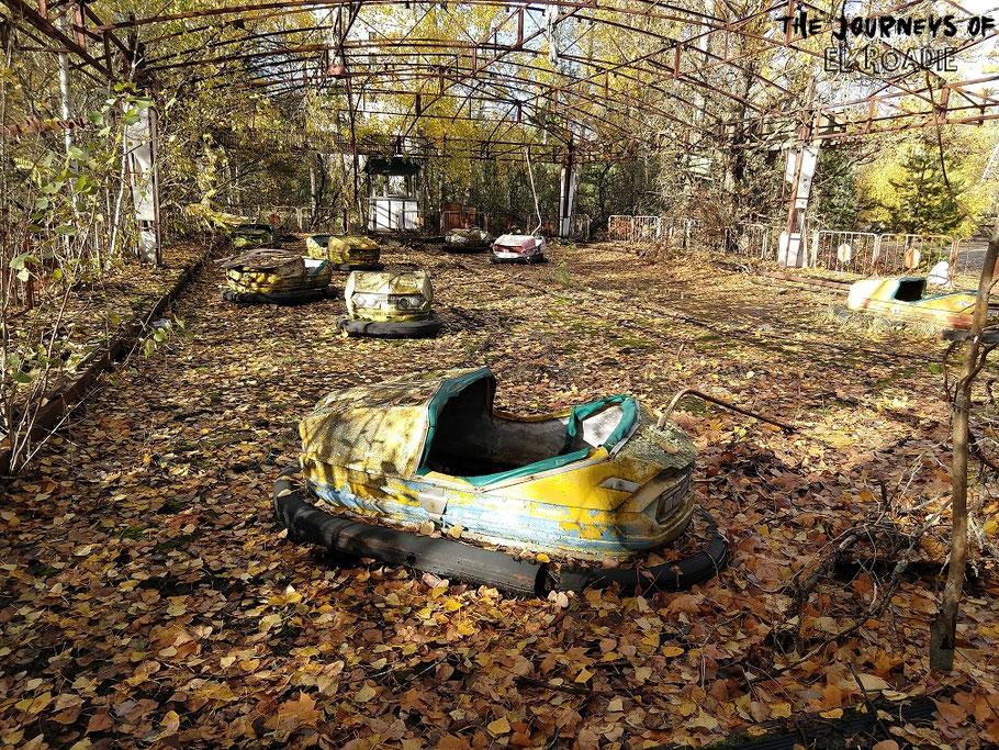 Prypjat Tschernobyl Autoscooter
