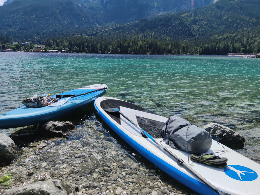 Eibsee Zugspitze SUP Stand up Paddling Decathlon