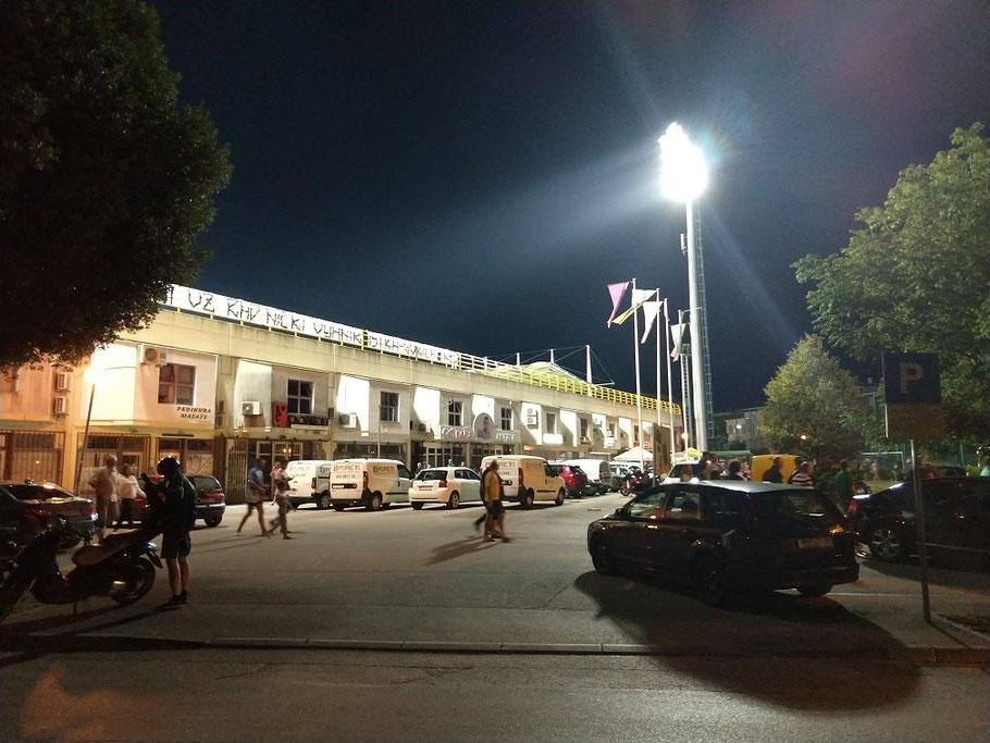 Stadion Istra Pula Kroatien Fußball Aldo Drosina Flutlicht