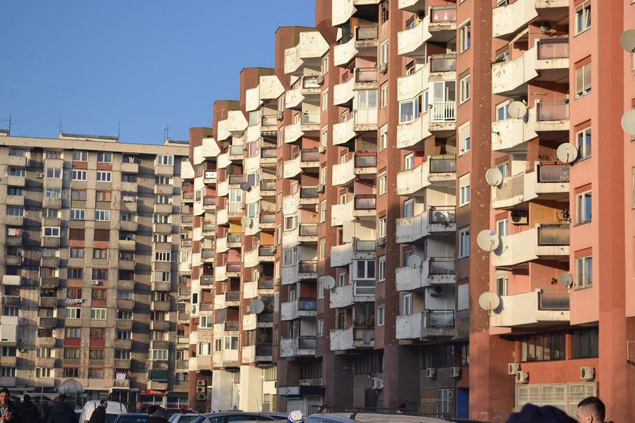 Grbavica Wohnhaus Block Sarajevo