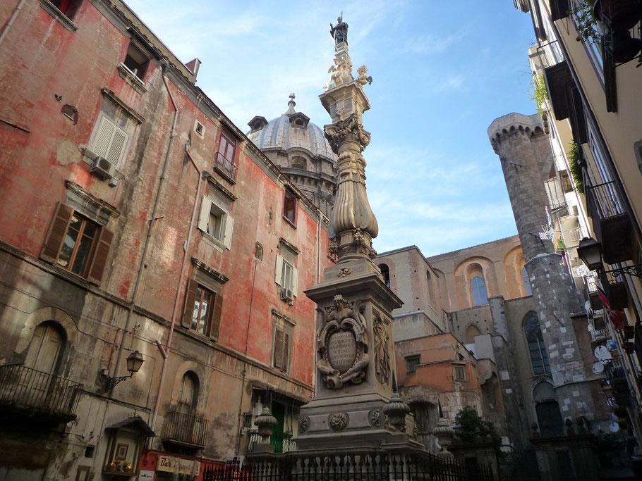 Neapel Napoli Altstadt Oldtown