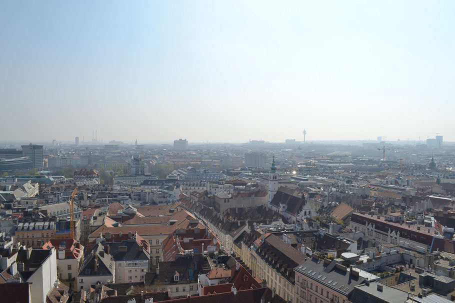 St. Stephan Dom Wien Panorama