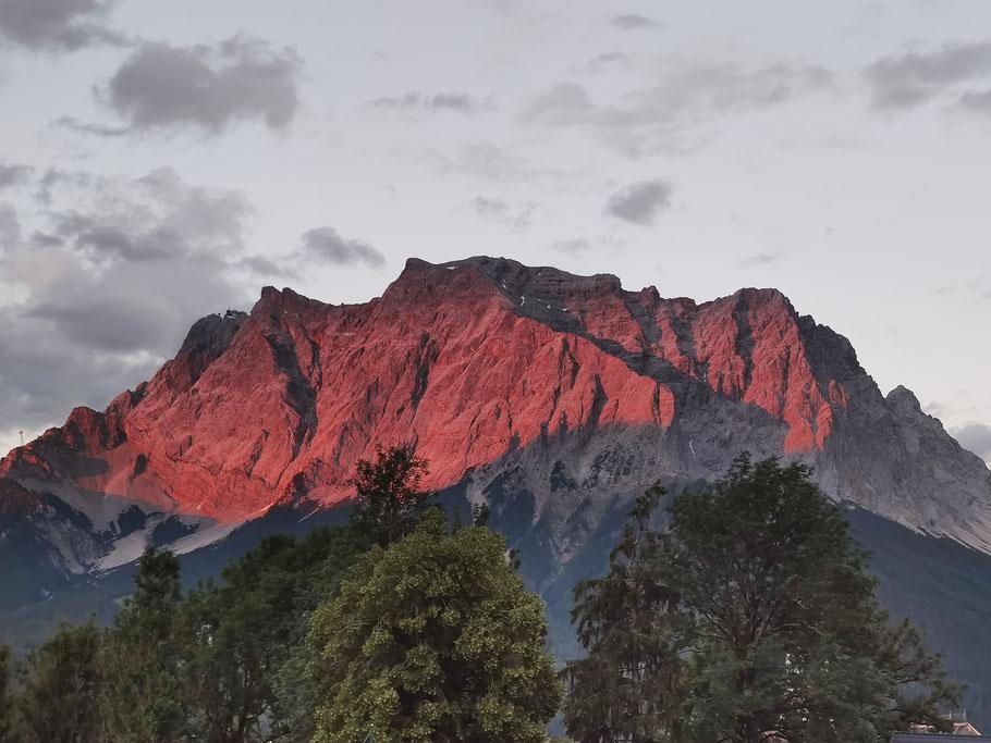Zugspitze Rot Tirol