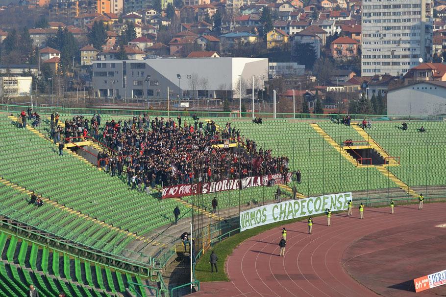Asim-Ferhatovic-Hase Stadion FK Sarajevo Horde Zla Chapecoense