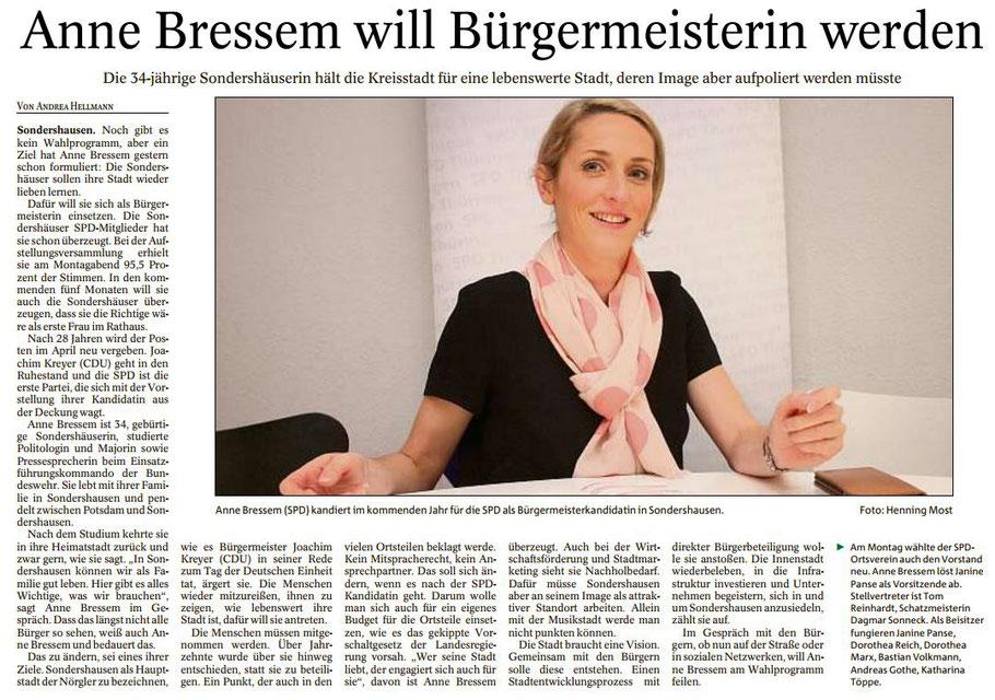 Thüringer Allgemeine vom 08.11.2017