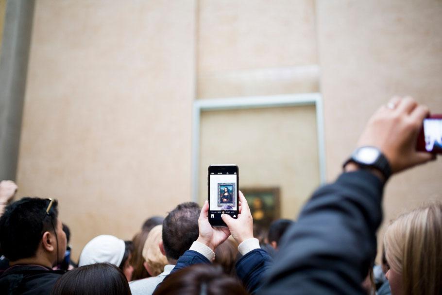 samtweissundbling Hochzeitsfotografie Paris Frankreich Louvre Travel Reise Anna-Sophie Rönsch Mona Lisa