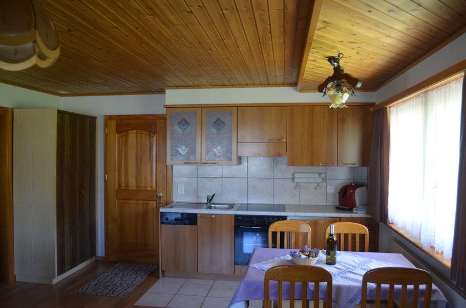 Küche - Ferienhaus Rialto
