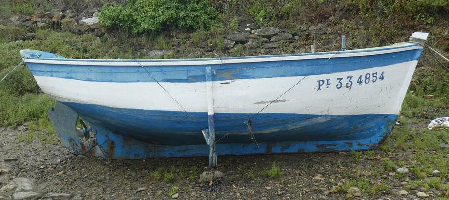 Laouiten, canot de la rivière de Tréguier à Yves Monfort, un modeste canot représentatif d'une époque peut faire l'objet d'une monographie assez complète