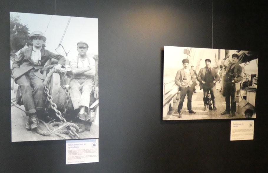 Dans cette exposition on retrouve toute l'ambiance du cabotage de l'entre-deux guerres