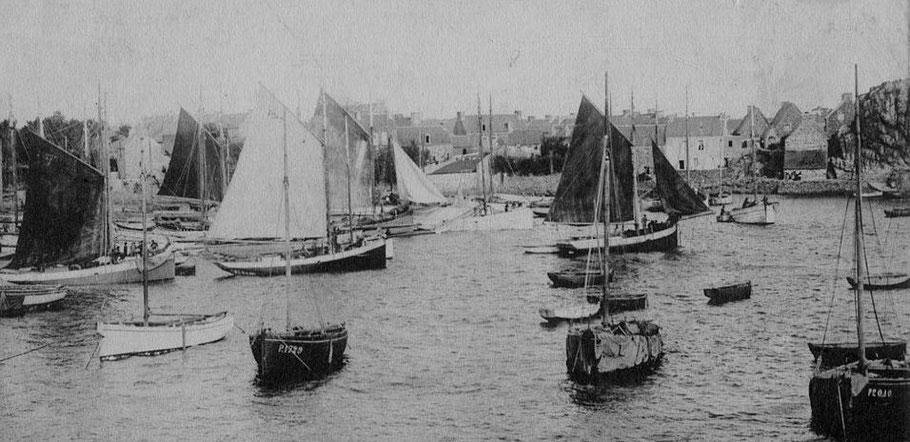 Les langoustier loguiviens pontés sont des bateaux marins habitués aux parages les plus durs