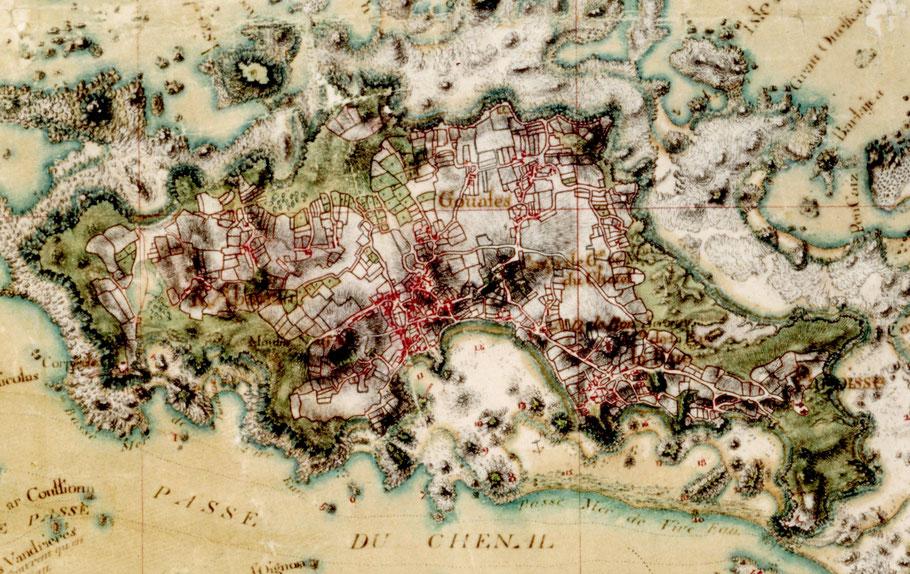 Détail de la carte des ingénieurs du Roy  (SDH Vincennes)