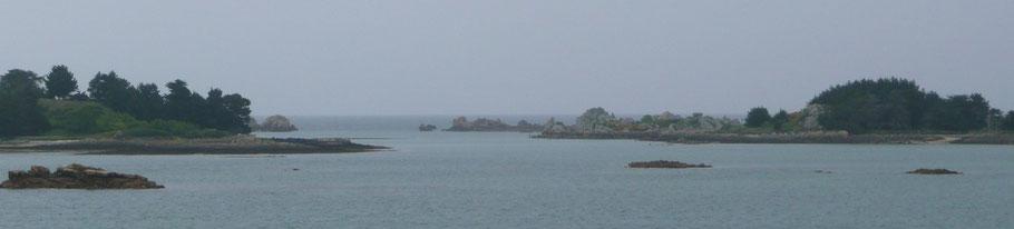 Port-Noir par temps gris