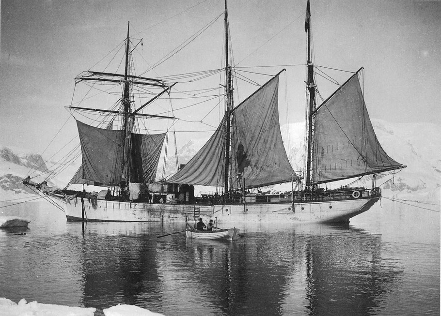 Le Français dans les glaces  de l'antarctique 1903-1905  (Coll part)