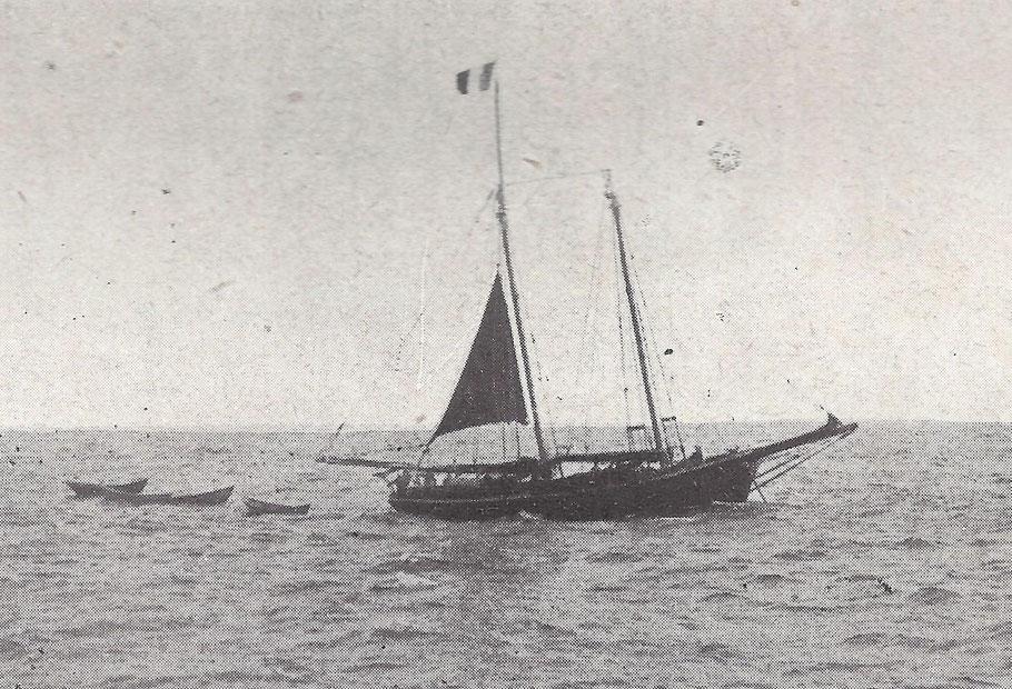 Un drame s'est déroulé à bord de la goélette Saint-Pierraise Amélie Julia