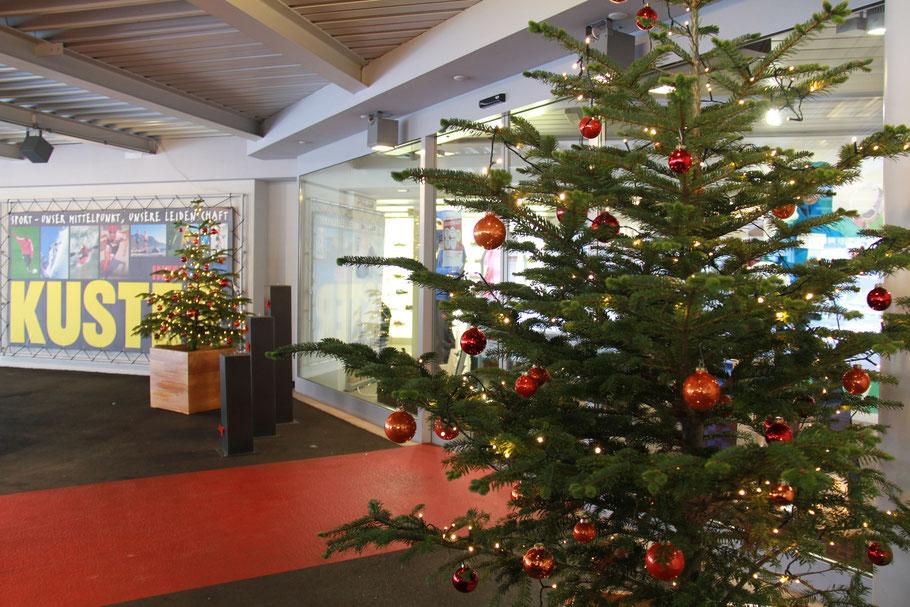 Weihnachtsbaum für Geschäft mieten