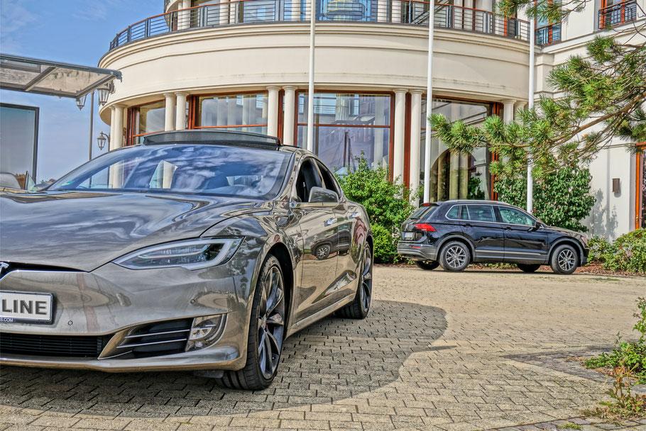 Elektronisches Fahrtenbuch Tesla S & Tesla X