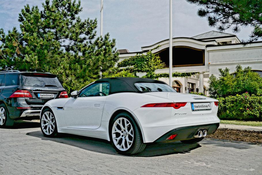 Elektronisches Fahrtenbuch Jaguar