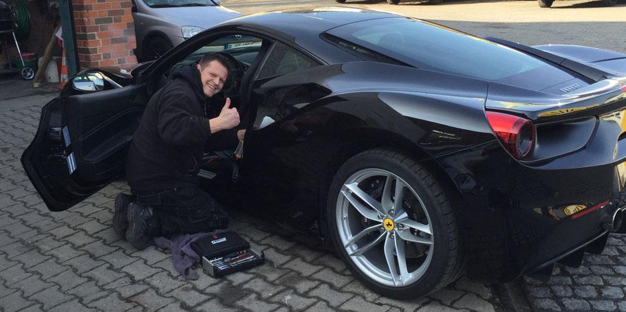 Fahrtenbuch Ferrari