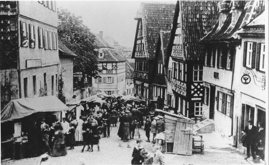 Standmarkt am Flecken 1925