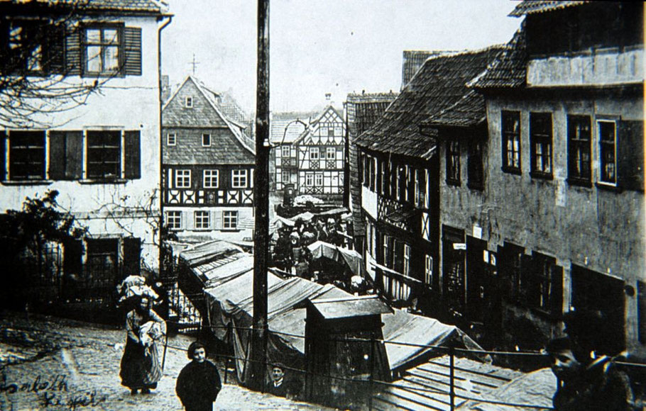 Krautmarkt am Flecken im September 1911